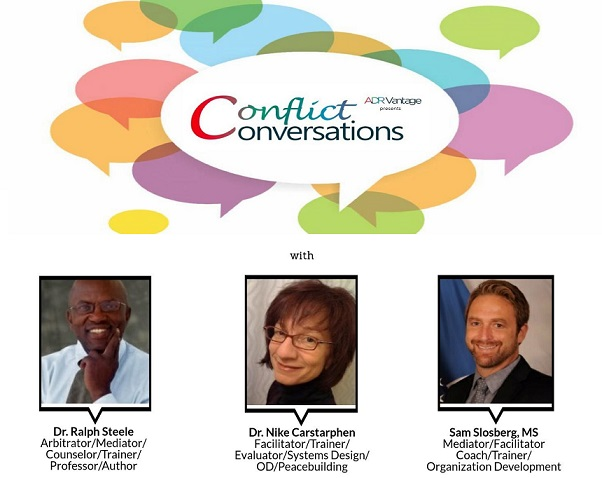 Join us October 19 for a panel discussion on shifting our attitudes and approaches to conflict